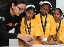 Mastercard shines a light on the development of young girls and commits to reach 200,000 by 2020 with its Girls4Tech STEM education program