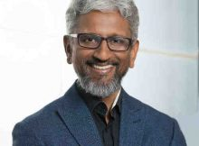 Raja M. Koduri is senior vice president of the Core and Visual Computing Group, general manager of edge computing solutions and chief architect at Intel Corporation. (Credit: Intel Corporation)