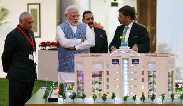 Narendra Modi inaugurates the new premises of the Central Information Commission, in New Delhi on March 06, 2018