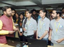 Prakash Javadekar at the inauguration of the Smart India Hackathon 2018, in New Delhi on March 30, 2018