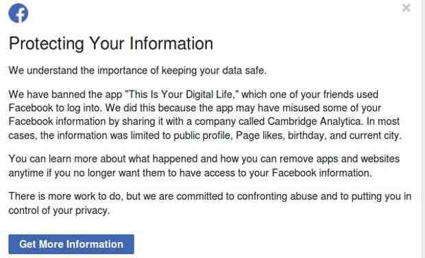 Can Facebook Protect Your Information?