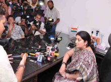 Information & Broadcasting (I&B) Minister Smriti Irani. file photo