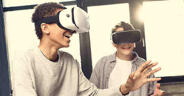 Impact of Virtual Reality on Children