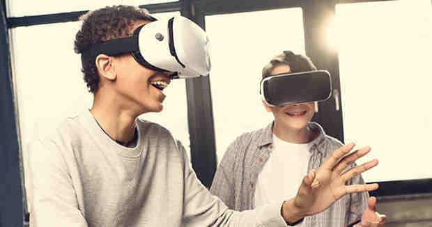 Impact of Virtual Reality on Children
