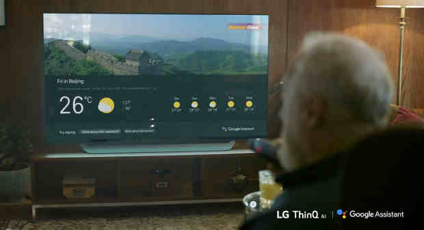 Activation of the Google Assistant Drives Critically-Acclaimed LG 4K UHD TVs Into the Connected Home Ecosystem with Cutting-Edge AI Services