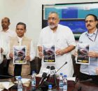 Giriraj Singh launching the 'MSME Insider', monthly e-Newsletter of the Ministry, in New Delhi on September 19, 2018