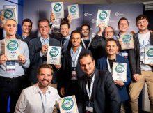 EIT Digital Challenge 2018 Winners. Photo: EIT Digital