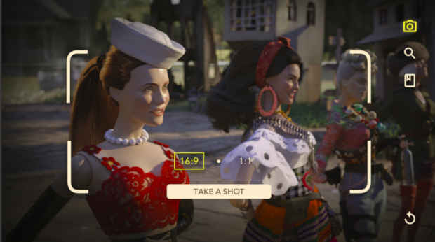 Augmented Reality Experience of Welcome to Marwen