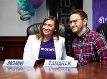 Karmel Larson, founder of the new caresharing app Momni