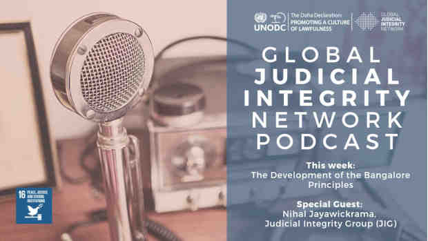 Podcasts to Prevent Corruption in Judiciaries