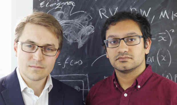 Left - Thomas Gatten, CEO, Growth Intelligence; right - Prashant Majmudar, CTO