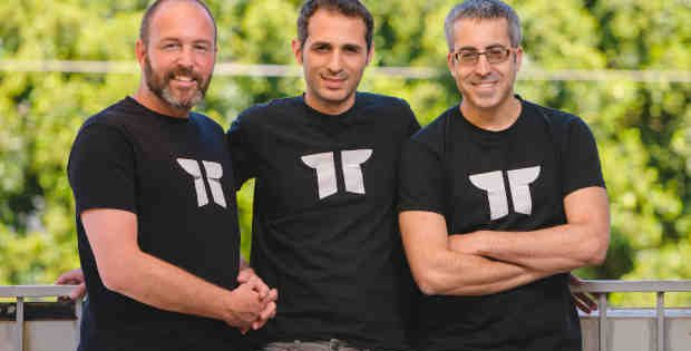 Torii co-founders from left to right: Uri Haramati, CEO; Tal Bereznitskey, CTO; Uri Nativ, VP Engineering. Photo: Torii