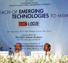 "Workshop on ""Outreach of Emerging Technologies to MSMEs"" in New Delhi on September 26, 2019. Photo: PIB"
