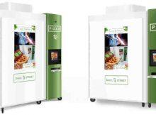 Basil Street Pizza Vending Machine