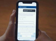 Watson Assistant for Citizens automates responses to frequently asked questions about COVID-19 on topics such as symptoms, testing, and protective measures. Photo: IBM