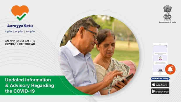 Aarogya Setu App. Photo: Government of India