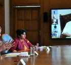 PM Narendra Modi speaking about Covid-19 through video conference in New Delhi on March 24, 2020. Photo: PIB (file photo)