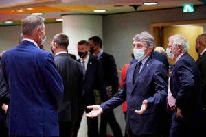 European Parliament President David Sassoli at the EU Summit. Photo: European Parliament (file photo)