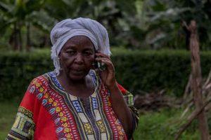 How Digital Technology Helps Farmers Respond to Covid-19 Pandemic. Photo: IFAD / Edward Echwalu