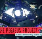 The Pegasus Project: Global Democracy Under Cyber Attack. Photo: Amnesty International
