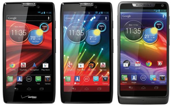 Motorola Razr Smartphones