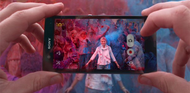 Indian Festival of Colors Holi to Market Sony Xperia