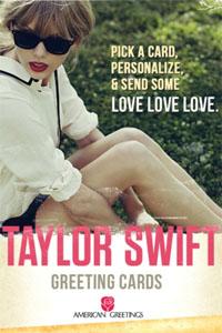 Taylor Swift Greeting Card