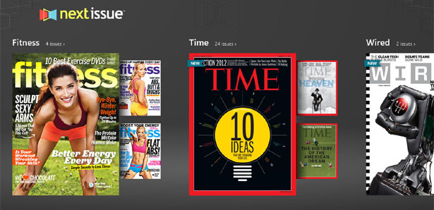 Next Issue on Windows 8 Devices