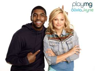 Kyrie Irving and Olivia Holt
