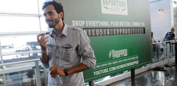 """Heineken campaign """"Voyage"""""""