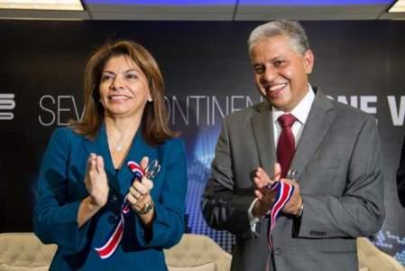 President of Costa Rica Laura Chinchilla