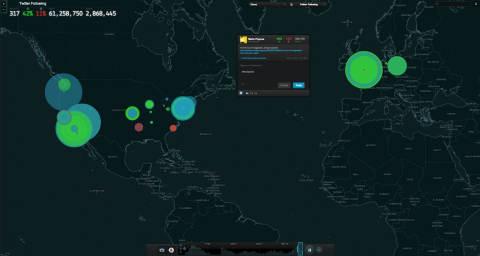 NUVI Group Monitor Visualization