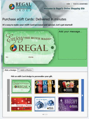 Regal Cyber Monday Gift Card Offer