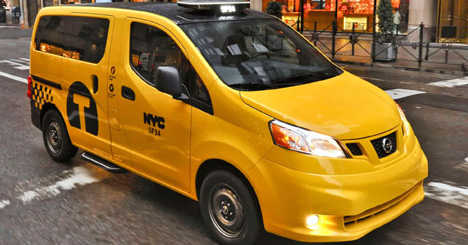 Nissan NV200 Taxi #HailYes