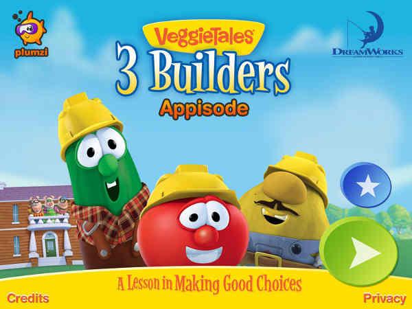 VeggieTales Appisode: 3 Builders