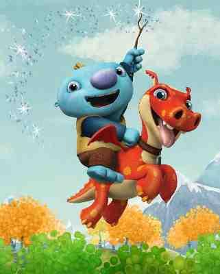 Nickelodeon Animated Series Wallykazam!