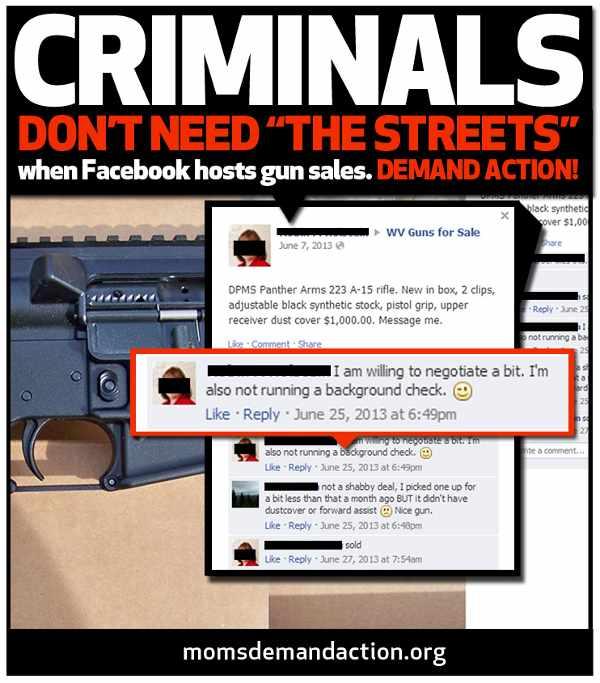 Gun Sales on Facebook