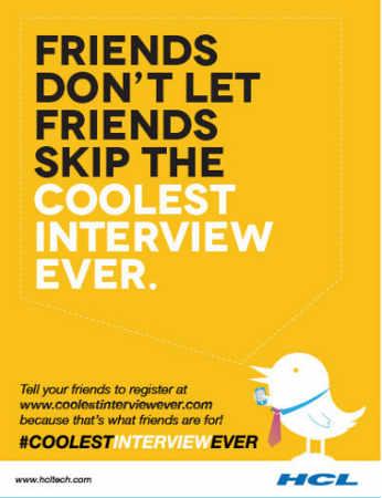 Twitter Recruitment #coolestinterviewever