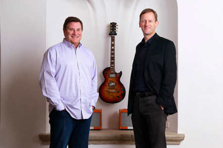 Slacker Radio Board Member Jim Cady and Slacker CEO Duncan Orrell-Jones