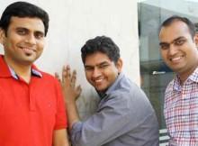 Roposo.com Founders (L to R) – Kaushal Shubhank, Avinash Saxena, Mayank Bhangadia