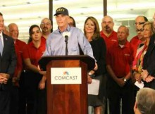 """Governor Rick Scott announced today that Comcast is expanding its customer service """"Center of Excellence"""" in Fort Myers, where the company plans to hire 200 new customer service agents and 20 leadership positions by the end of the year. This growth will expand the customer-dedicated """"Center of Excellence"""" and Call Center facility to more than 400 employees who will be dedicated to taking care of Comcast customers living in bulk communities."""