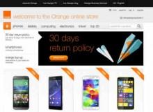 Orange E-Commerce Site