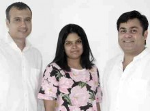 L-R: Sumanta Ganguly, Gauri Joshi, Paul Dueman