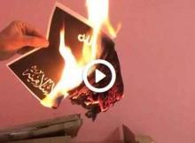 Burn ISIS Flag Challenge