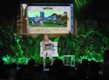 Actress Uma Thurman Promotes Education Through Technology