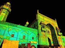 Laser scan data of the Masjid Wazir Khan Mosque in Pakistan