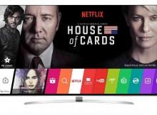 Internet TV Network Netflix Recommends LG Smart TVs