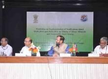 Environment Minister, Prakash Javadekar