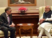 The Co-Chairman of the Bill & Melinda Gates Foundation, Mr. Bill Gates calls on the Prime Minister, Shri Narendra Modi, in New Delhi on November 16, 2016