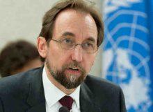 High Commissioner for Human Rights Zeid Ra'ad Al Hussein. UN Photo / Jean-Marc Ferré